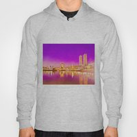 Concrete water reflection. Hoody