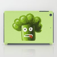 Stressed Out Broccoli iPad Case