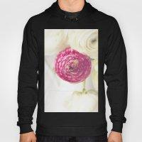 Pink Ranunculus 2 Hoody
