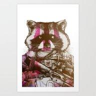 Badass Pets : The Royal … Art Print