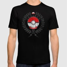 PokéTrainer Mens Fitted Tee Black SMALL
