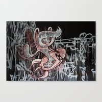 IT´S ALWAYS DOOMSDAY Canvas Print