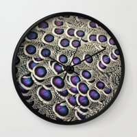 Let Your Colors Shine Wall Clock