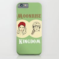 moonrise kingdom iPhone & iPod Cases featuring Moonrise Kingdom  by Sheena White for Winsome Gallery