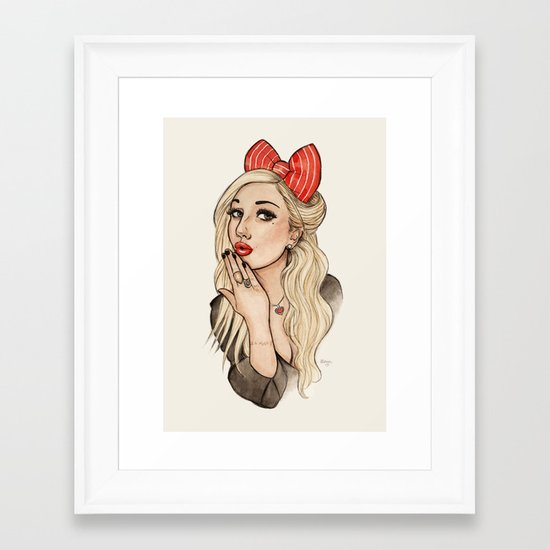 Tara Framed Art Print
