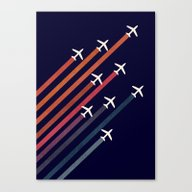 Canvas Print featuring Aerial Acrobat by Budi Kwan