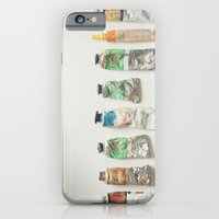 iPhone & iPod Case featuring Oil Paints by Cassia Beck