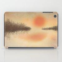 Dusk On The Lake iPad Case