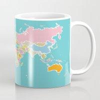 Map Print Mug
