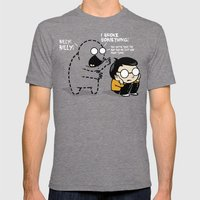 Worst Imaginary Friend Ever Mens Fitted Tee Tri-Grey SMALL