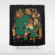 Oo-de-lally Shower Curtain