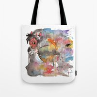 Rainbow Princess Mononoke Tote Bag