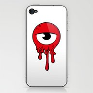 Red Eye iPhone & iPod Skin