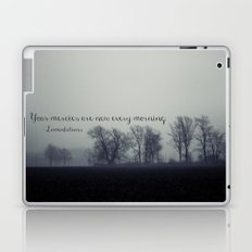 Your Mercies are New  Laptop & iPad Skin