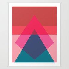 Cacho Shapes LXV Art Print