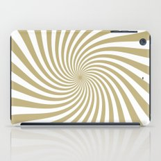 Swirl (Sand/White) iPad Case