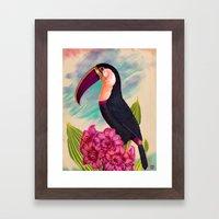 Mr. Toucan Framed Art Print