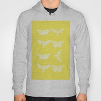 Yellow Moth's; Hoody