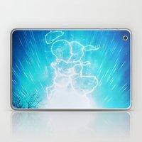 Cosmo + Celeste ( Colorful Cosmological Night Sky Couple in Love ) Laptop & iPad Skin