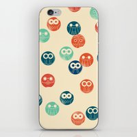 Owl Spots iPhone & iPod Skin