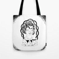 Girls Stuff: She said what? Tote Bag