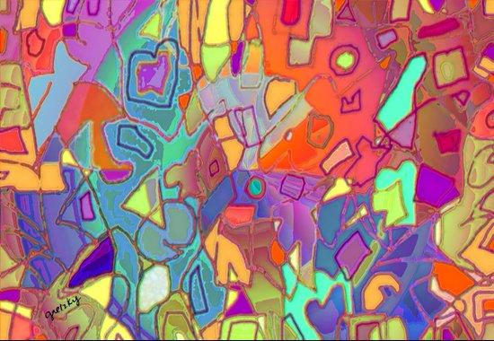 Colorific Art Print