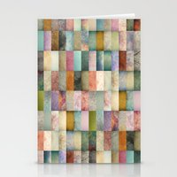 Patchwork Textures Stationery Cards