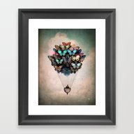 Framed Art Print featuring Dream On by Christian Schloe