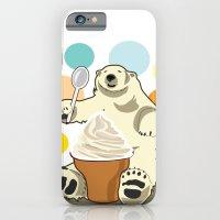 Polar bear's summer time iPhone 6 Slim Case