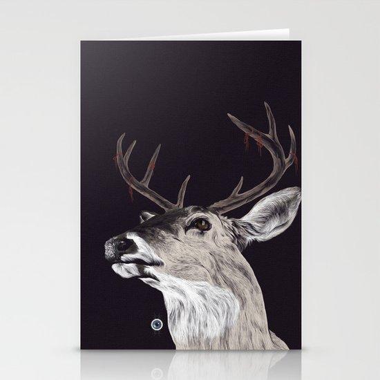 Deer (remindeer) Stationery Card