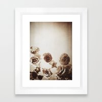 Falling Flower Variation… Framed Art Print
