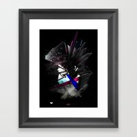 APOLLOPUNK Framed Art Print