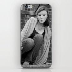 The Mask We Hide Behind I iPhone & iPod Skin