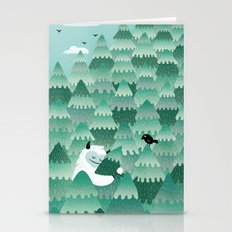 Tree Hugger (Spring & Summer version) Stationery Cards