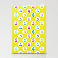 Yummy Cherries Stationery Cards