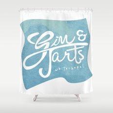 Gin & Tarts Shower Curtain