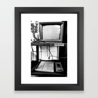 Mind Control Framed Art Print