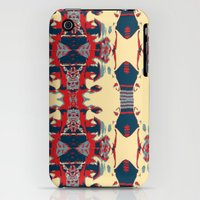 iPhone 3Gs & iPhone 3G Cases featuring Dog Attack Man  by UltraViolette