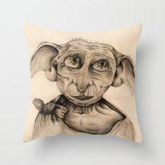Free Elf Full Length Throw Pillow