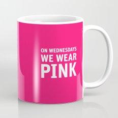 Mean Girls #11 – Pink Wednesday Mug