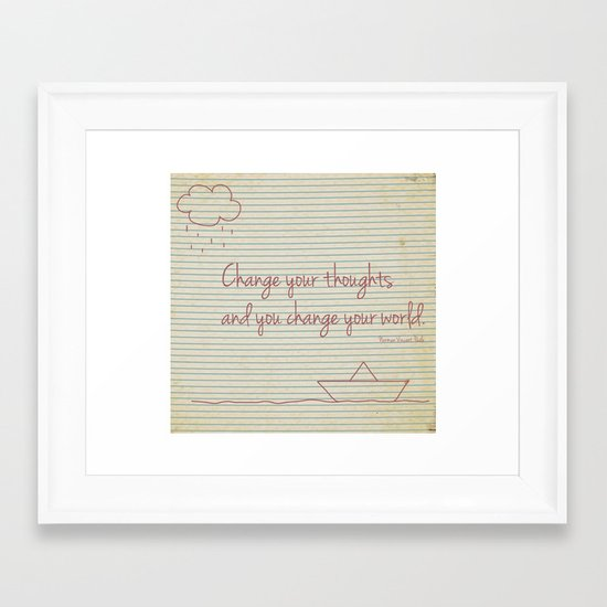 It's How You See It Framed Art Print