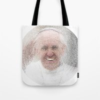 ArcFace - Papa Francesco Tote Bag