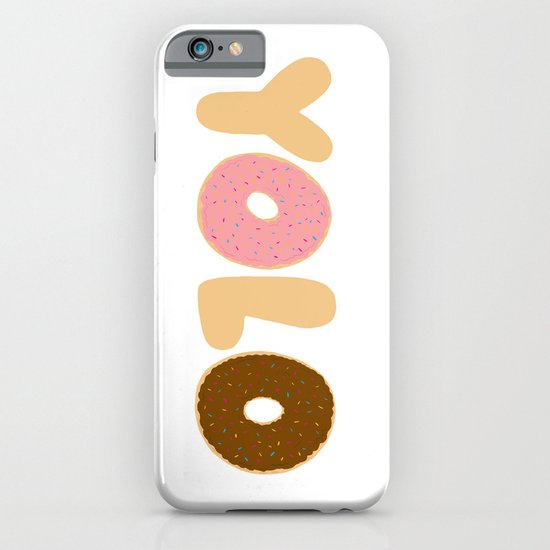 YOLO Donuts iPhone & iPod Case