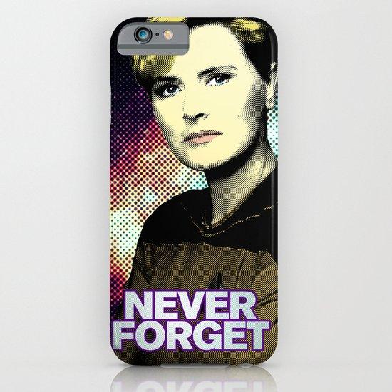 Never Forget Tasha iPhone & iPod Case