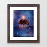 Energy & Lights Framed Art Print