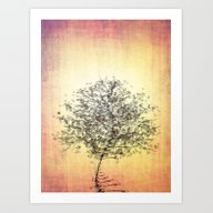 Zen Tree Art Print
