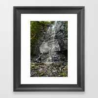 Swallet Falls Framed Art Print