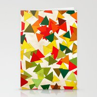 lights Stationery Cards featuring Lights by SensualPatterns