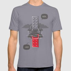 Alter LEGO Mens Fitted Tee Slate SMALL