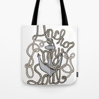 Anchor My Soul Tote Bag